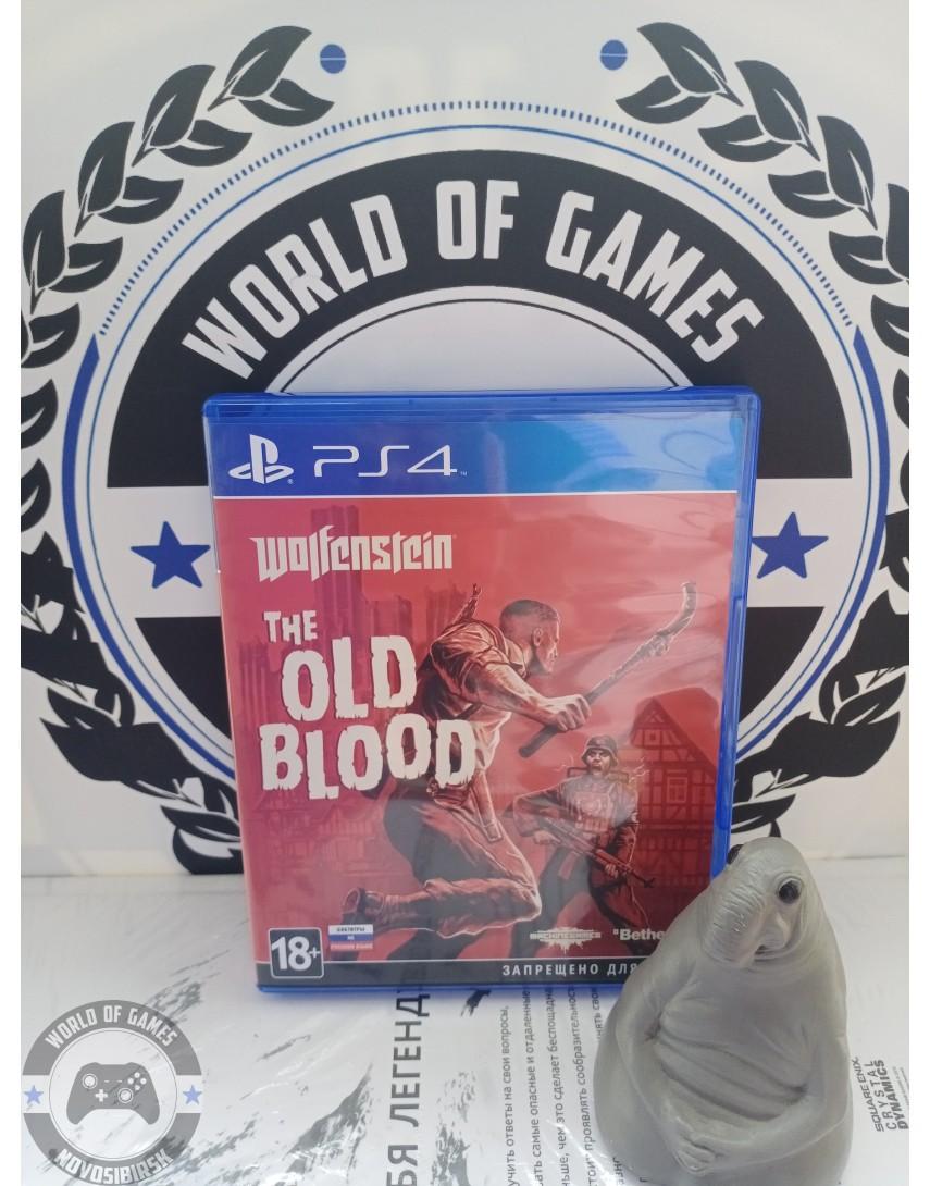 Купить Wolfenstein The Old Blood [PS4] в Новосибирске