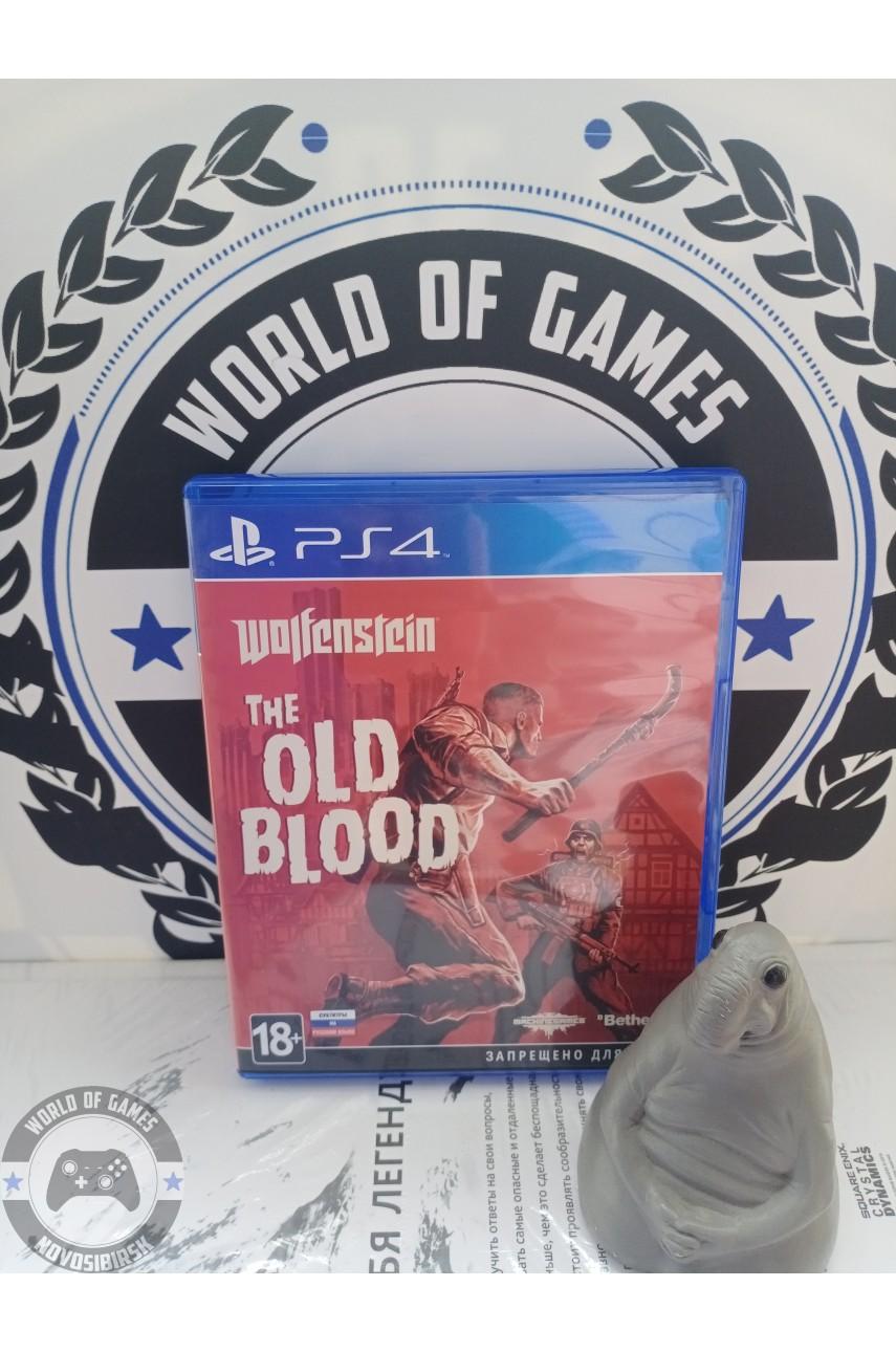 Wolfenstein The Old Blood [PS4]