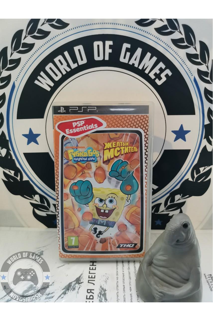 SpongeBob SquarePants The Yellow Avenger [PSP]