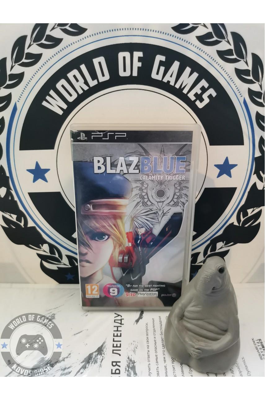 BlazBlue Calamity Trigger Portable [PSP]