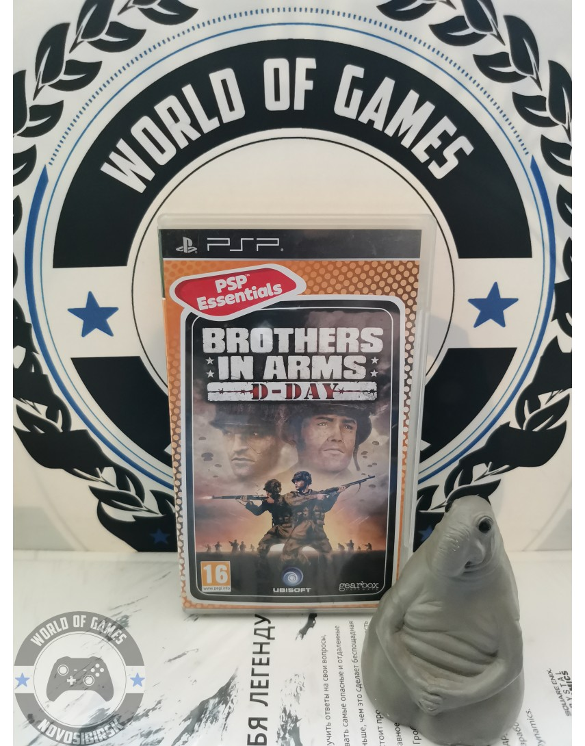 Brothers in Arms D-Day [PSP]
