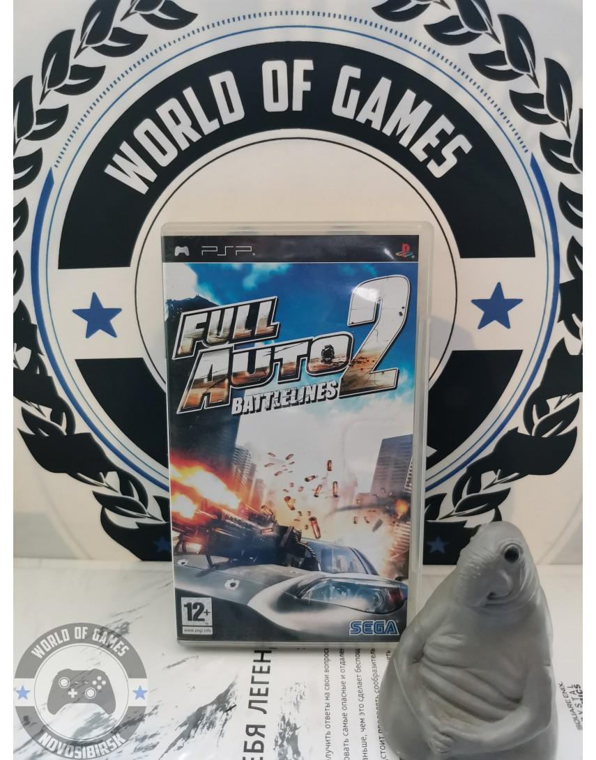 Full Auto 2 Battlelines [PSP]