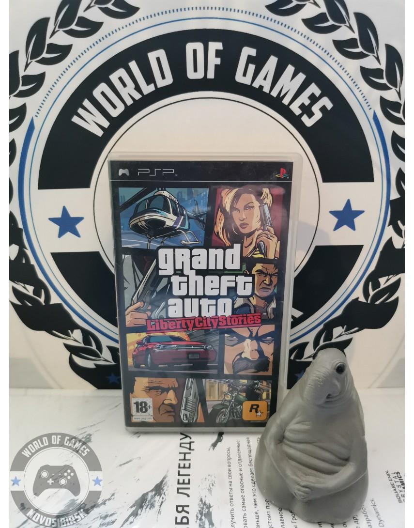 Grand Theft Auto Liberty City Stories GTA Liberty City Stories) [PSP]