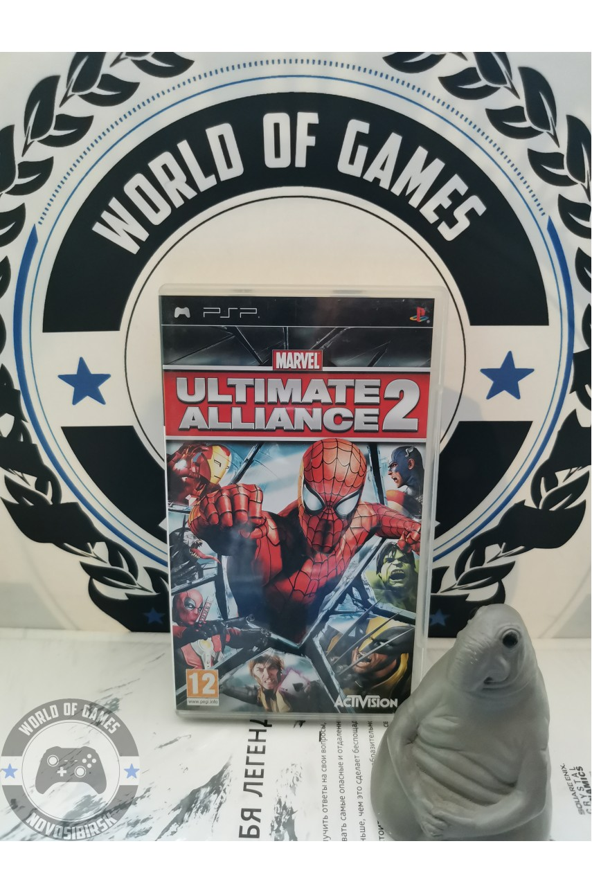 Marvel Ultimate Alliance 2 [PSP]
