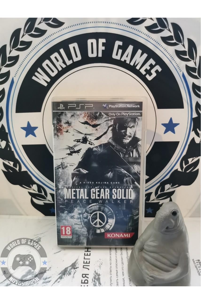 Metal Gear Solid Peace Walker [PSP]