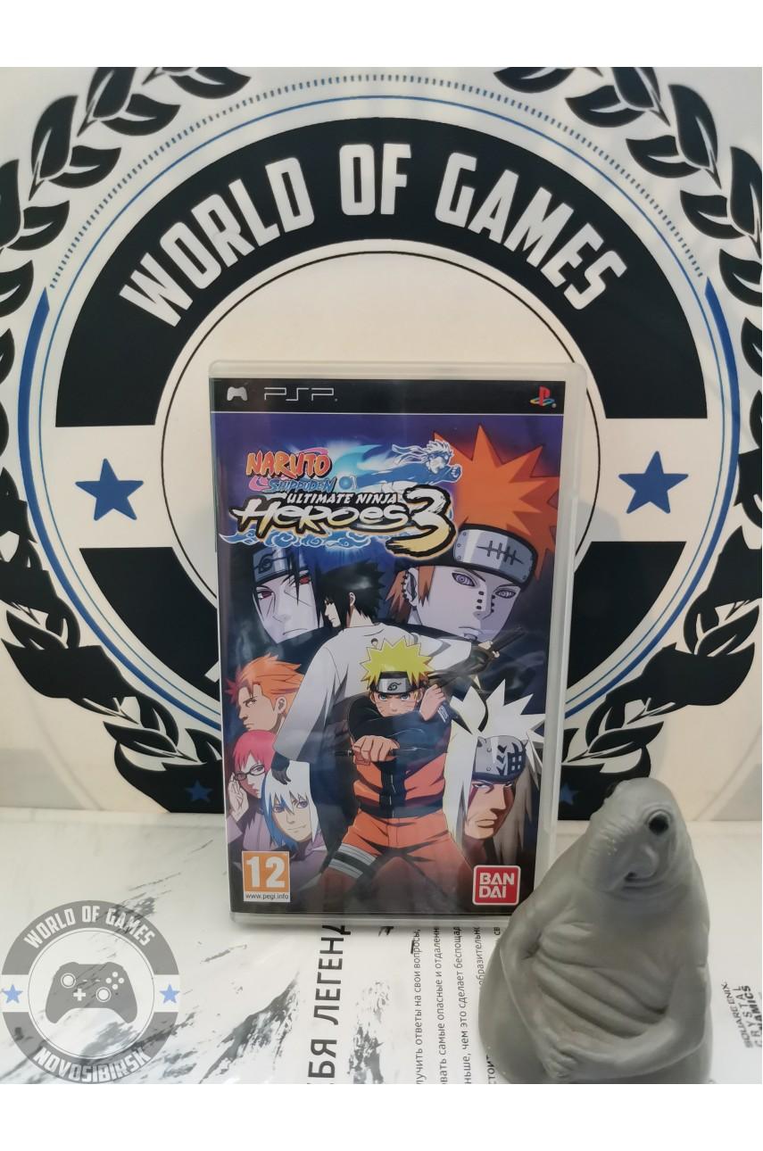Naruto Shippuden Ultimate Ninja Heroes 3 [PSP]
