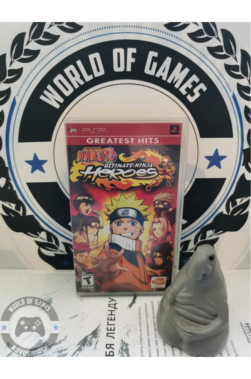 Naruto Ultimate Ninja Heroes [PSP]