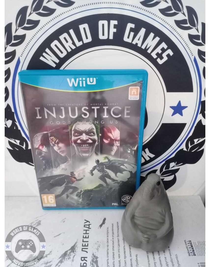 Injustice Gods Among Us [Nintendo Wii U]