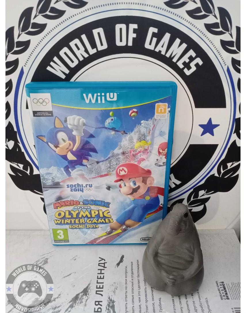 Mario & Sonic at the Sochi 2014 Olympic Winter Games [Nintendo Wii U]