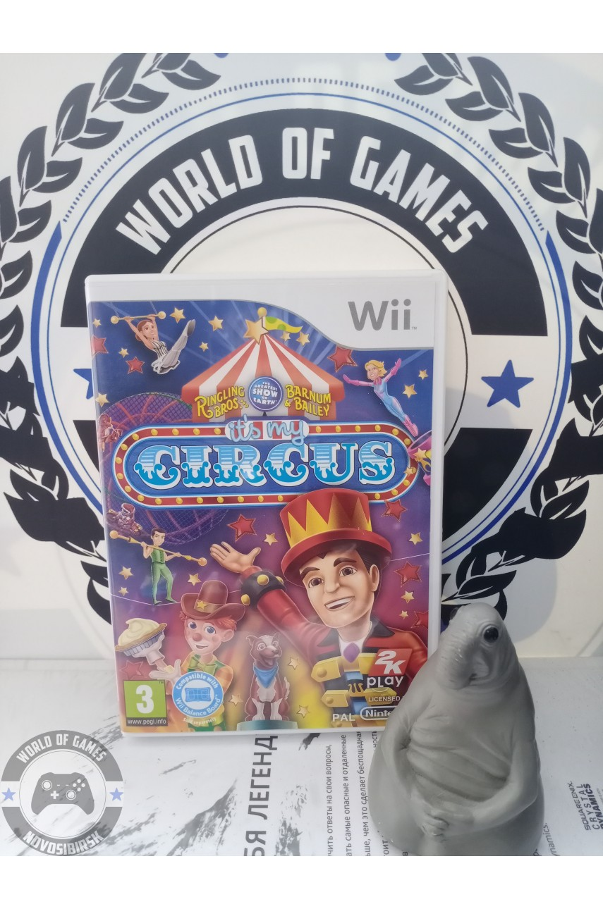 Ringling Bros and Barnum Bailey [Nintendo Wii]