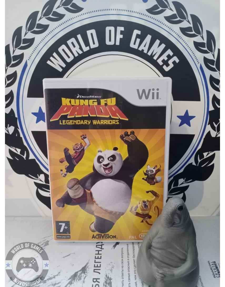 Kung Fu Panda Legendary Warriors [Nintendo Wii]