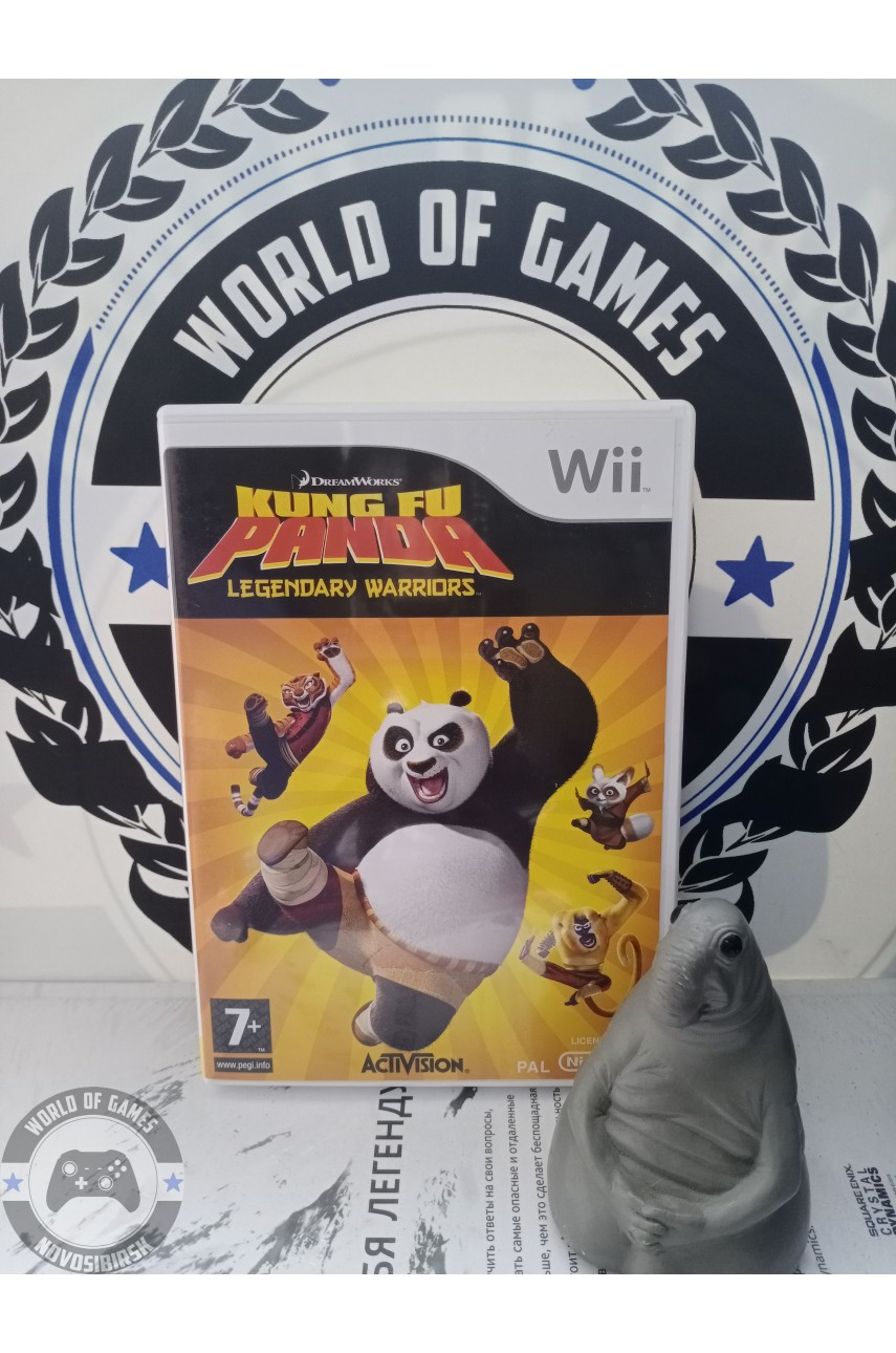 Kung Fu Panda Legendary Warriors [Nintendo Wii]