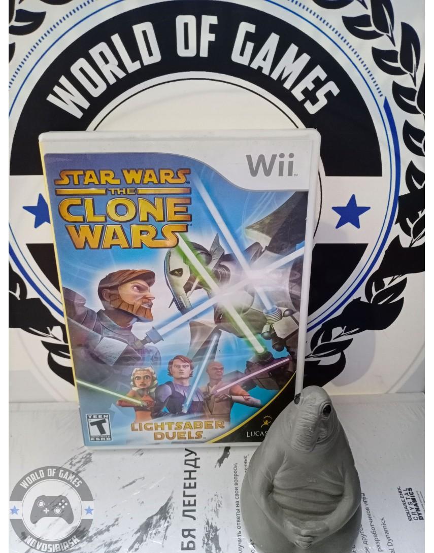 Star Wars The Clone Wars - Lightsaber Duels [Nintendo Wii]