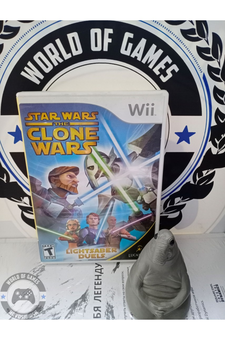 Star Wars The Clone Wars - Lightsaber Duels [Nintendo Wii]