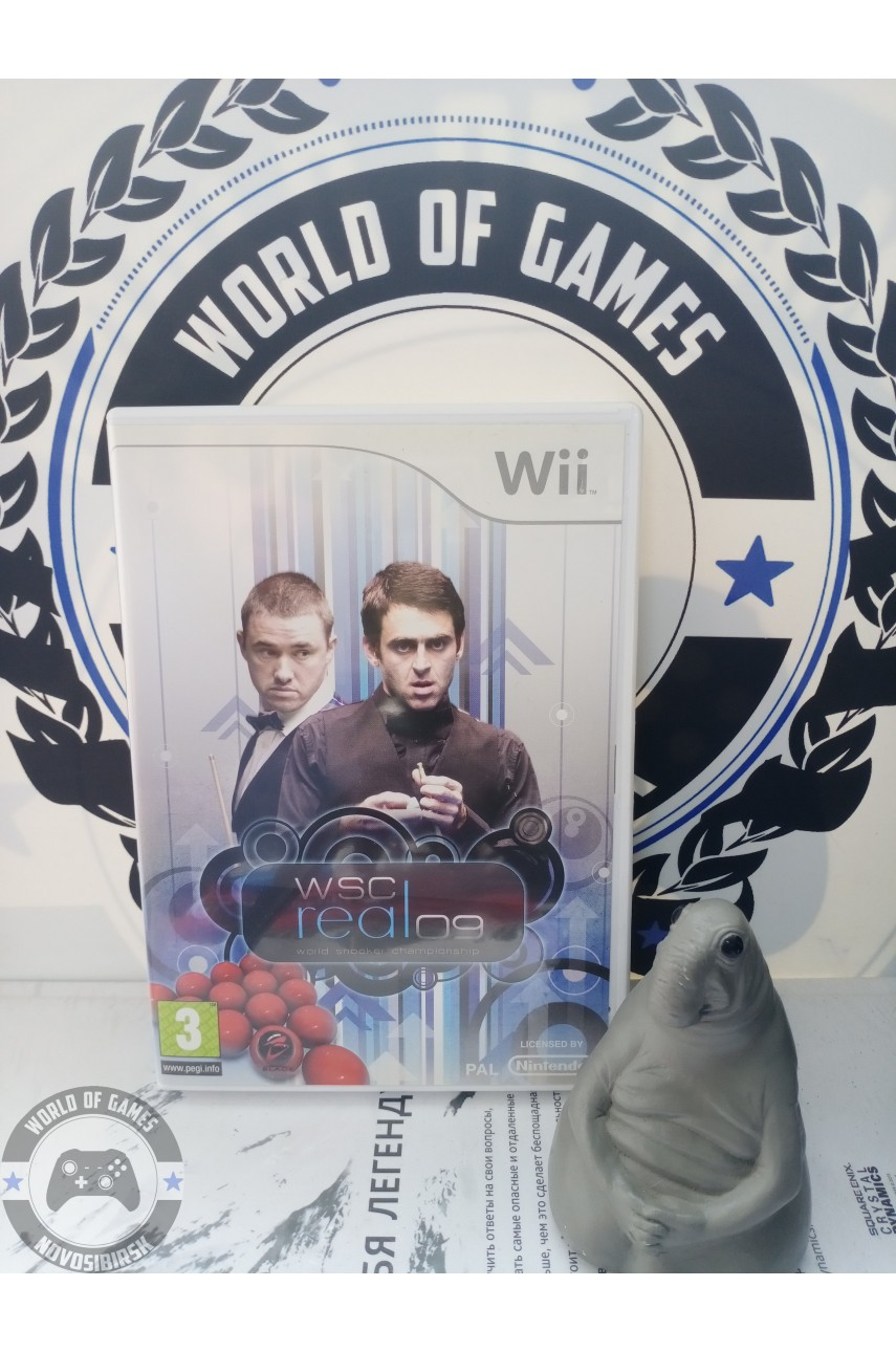WSC Real 09: World Snooker Championship [Nintendo Wii]