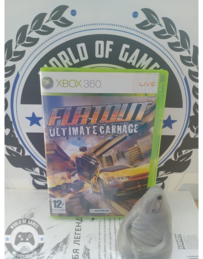 FlatOut [Xbox 360]