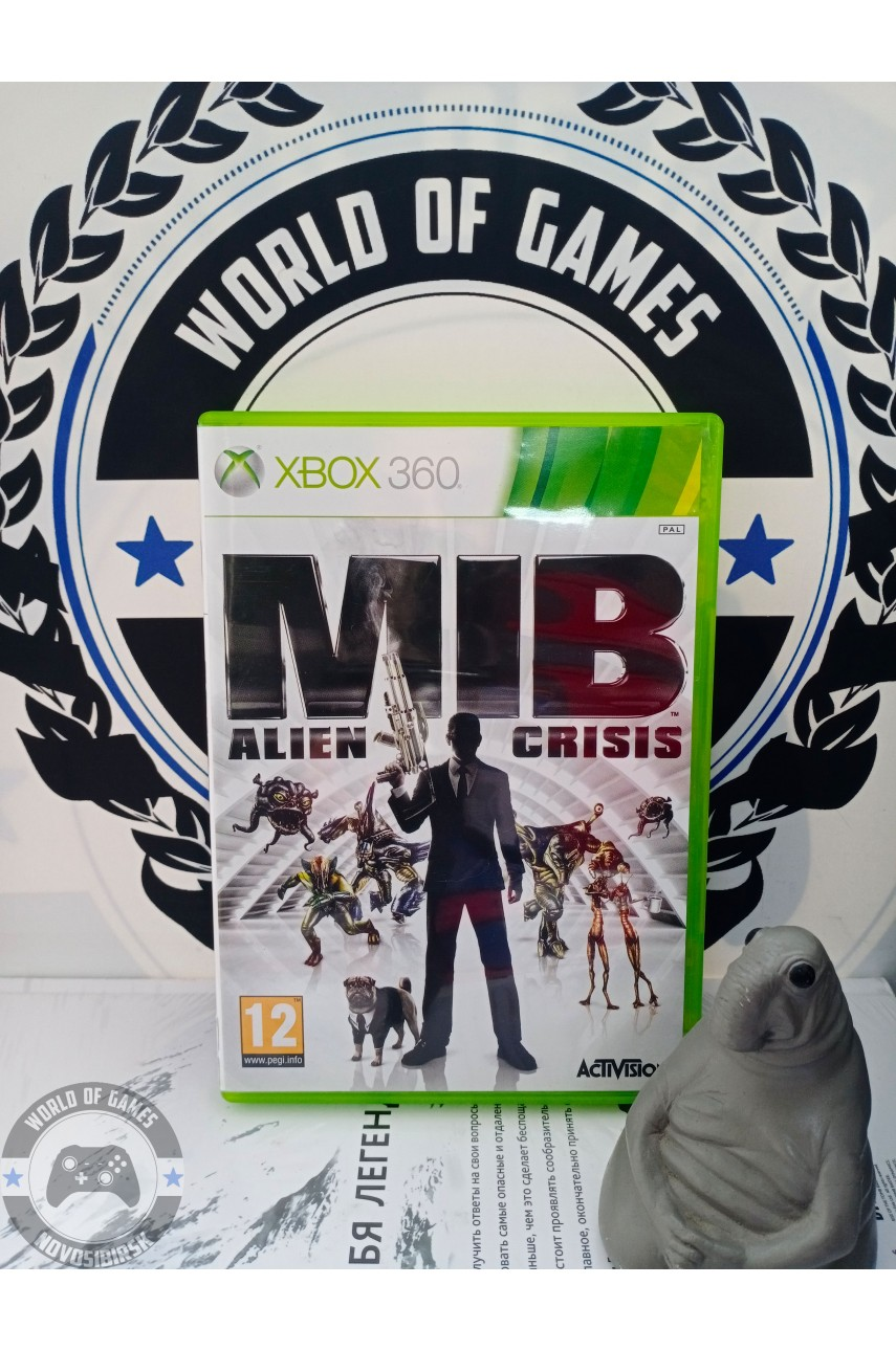 Man in Black Alien Crisis [Xbox 360]