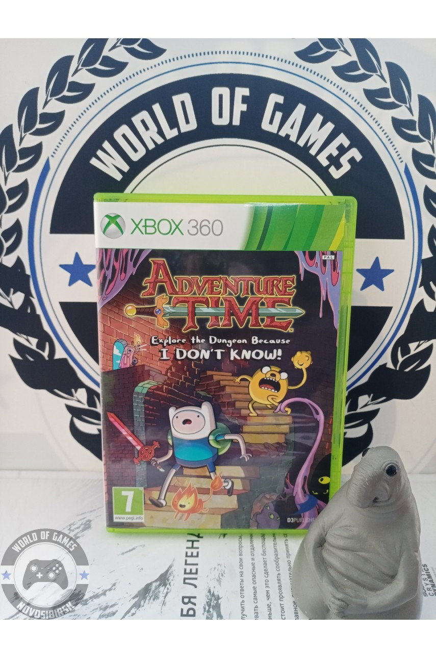 Adventure Time Explore the Dungeon Because I Don't Know! [Xbox 360]
