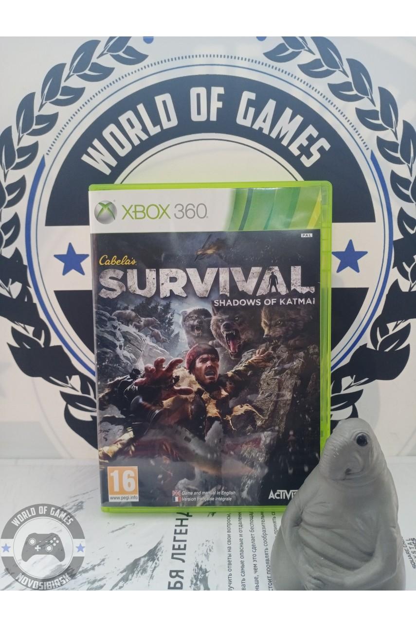 Cabela's Survival Shadows of Katmai [Xbox 360]