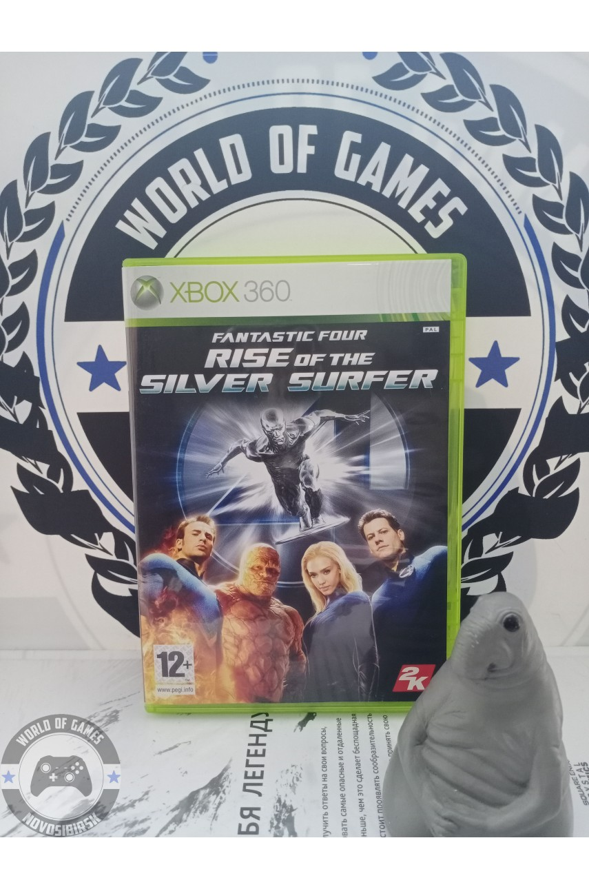 Fantastic Four Rise of the Silver Surfer [Xbox 360]