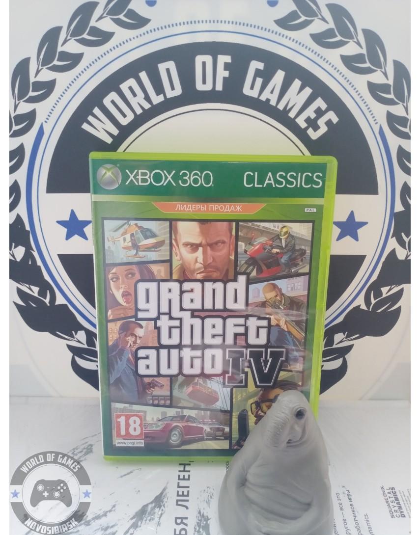 Grand Theft Auto 4 (GTA 4) [Xbox 360]