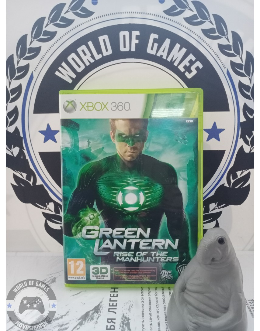Green Lantern Rise of the Manhunters [Xbox 360]
