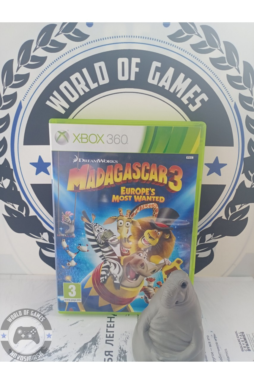 Madagascar 3 The Video Game [Xbox 360]