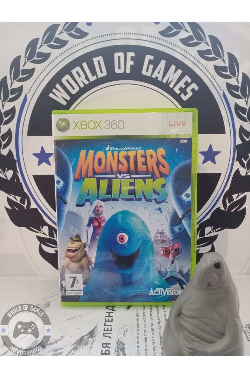 Monsters vs Aliens [Xbox 360]