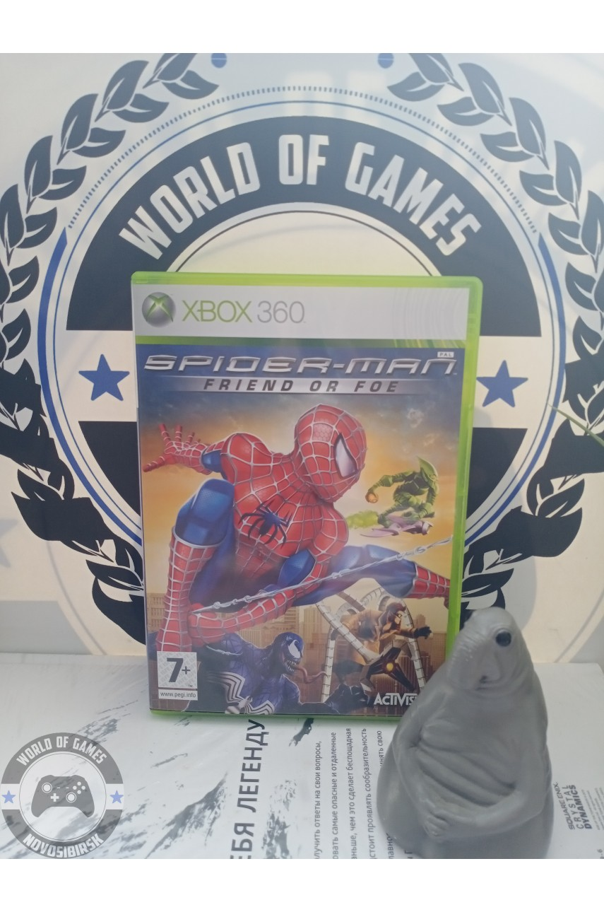 Spider-Man Friend or Foe [Xbox 360]