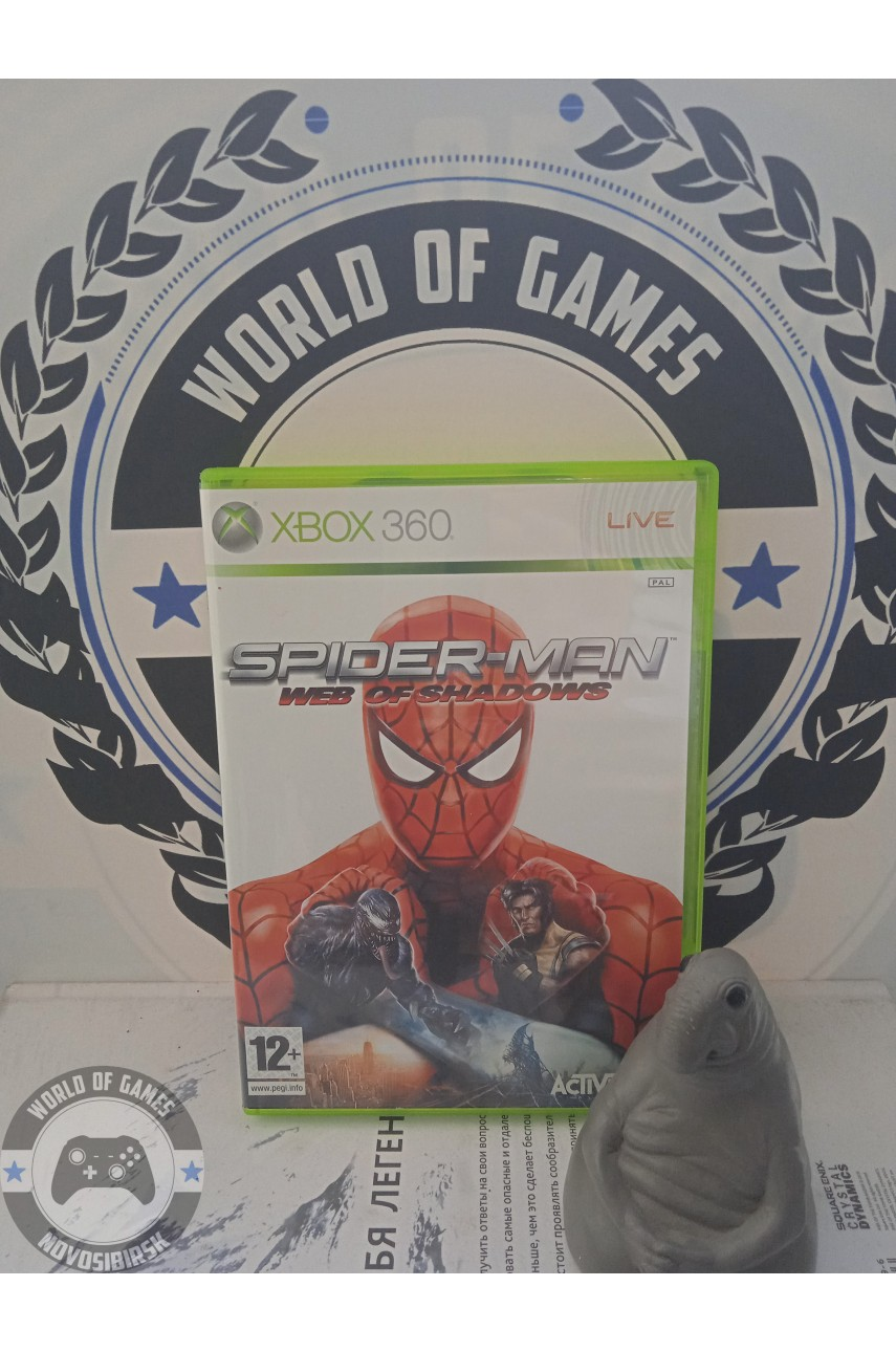 Spider-Man Web of Shadows [Xbox 360]