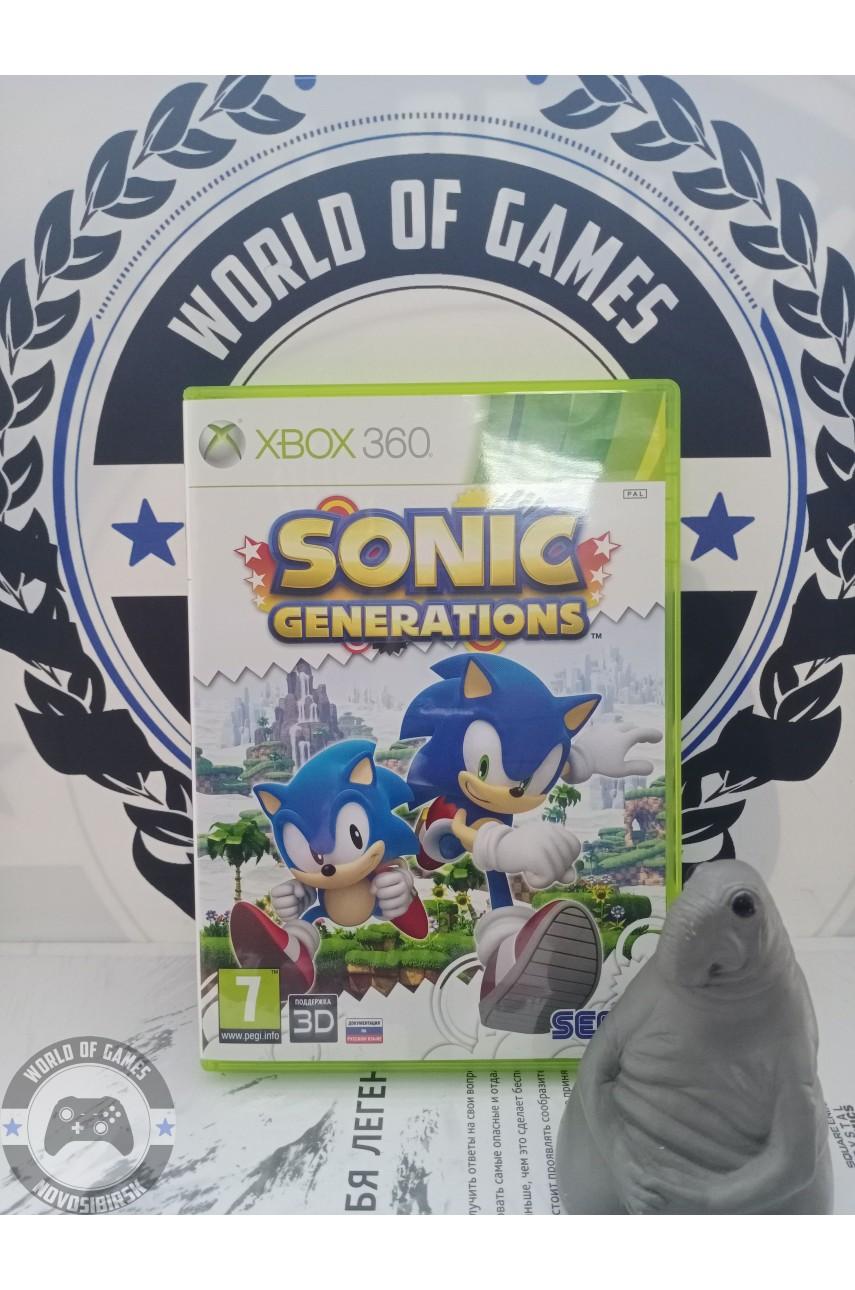 Sonic Generations [Xbox 360]