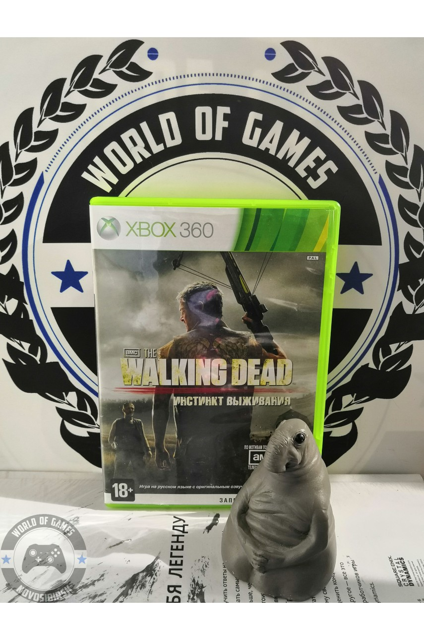 The Walking Dead Инстинкт Выживания [Xbox 360]