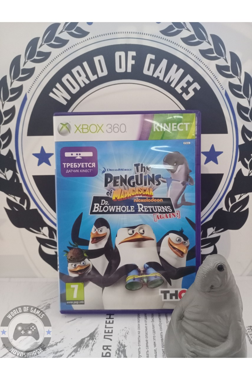 The Penguins of Madagascar Dr. Blowhole Returns - Again! [Xbox 360]