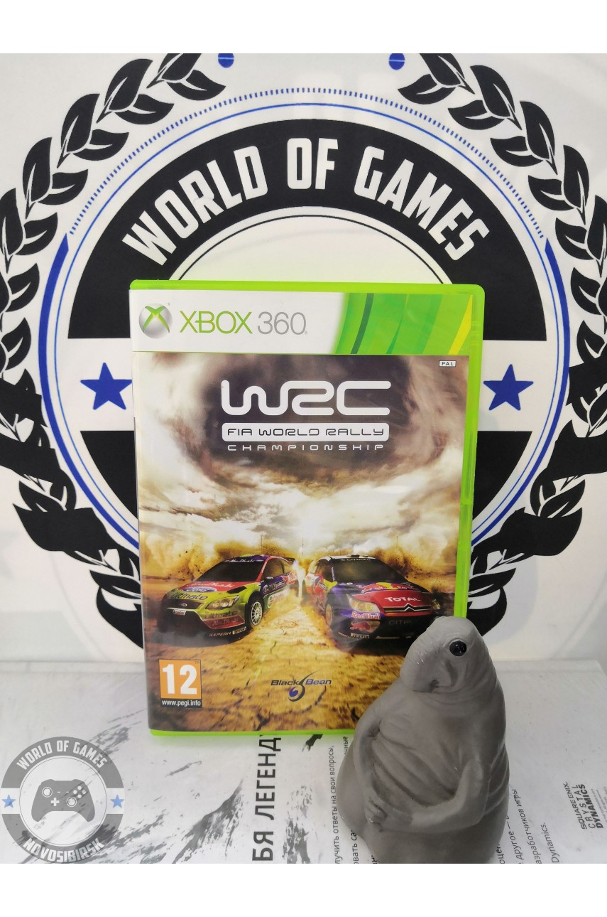 WRC FIA World Rally Championship [Xbox 360]