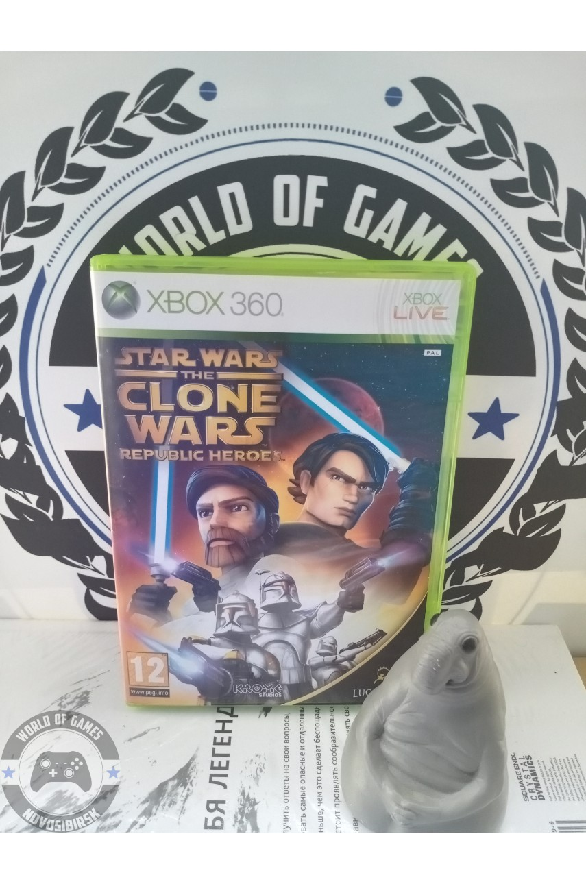 Star Wars The Clone Wars Republic Heroes [Xbox 360]
