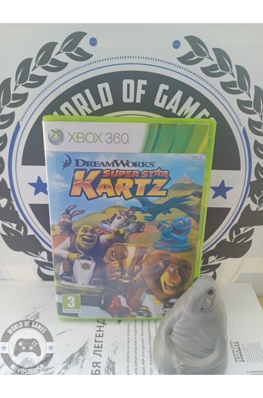 DreamWorks Super Star Kartz [Xbox 360]