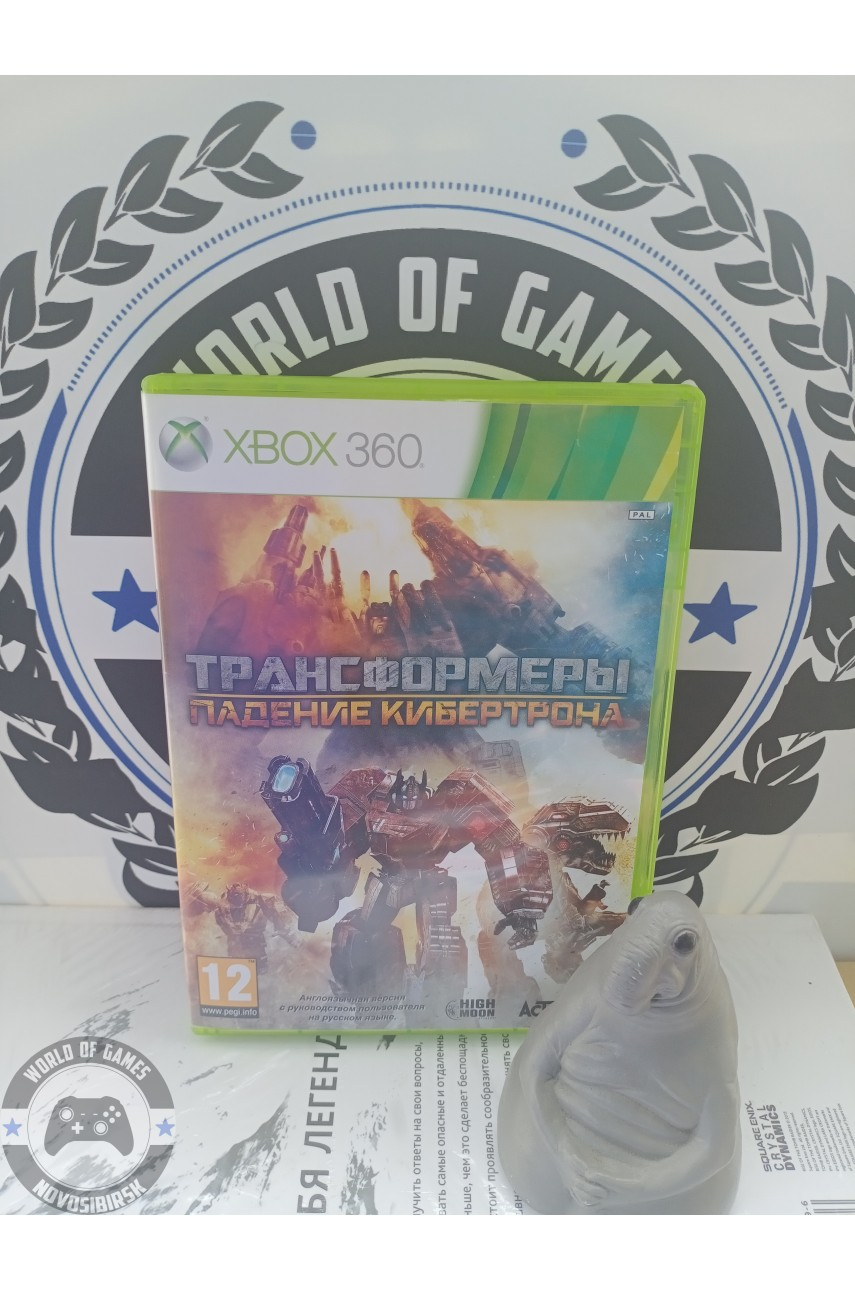 Transformers Fall of Cybertron [Xbox 360]