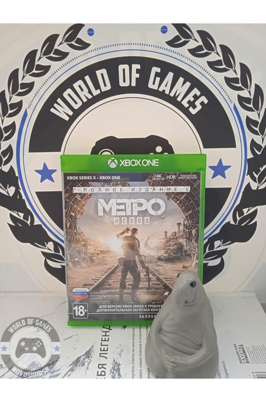Метро Исход Полное издание [Xbox One]