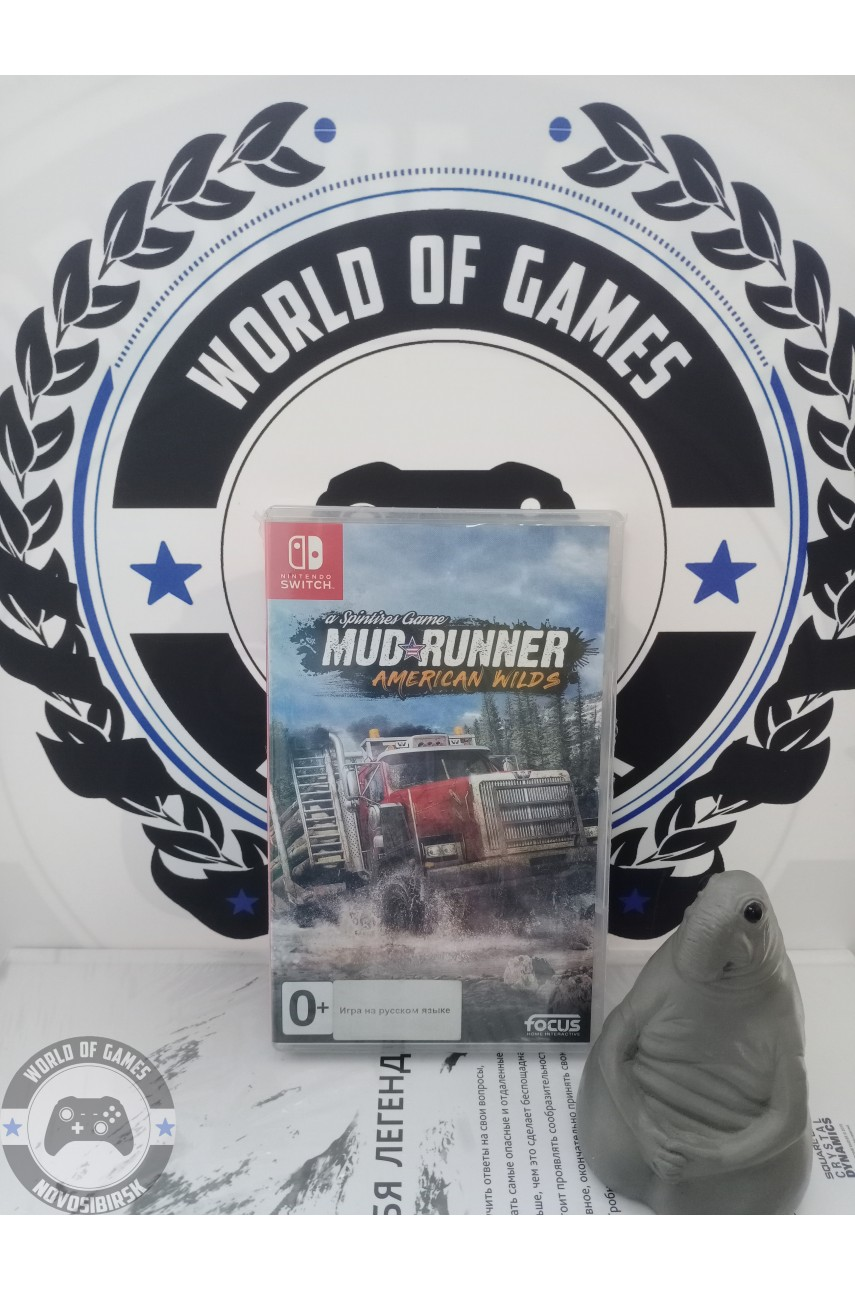 Spintires MudRunner American Wilds [Nintendo Switch]