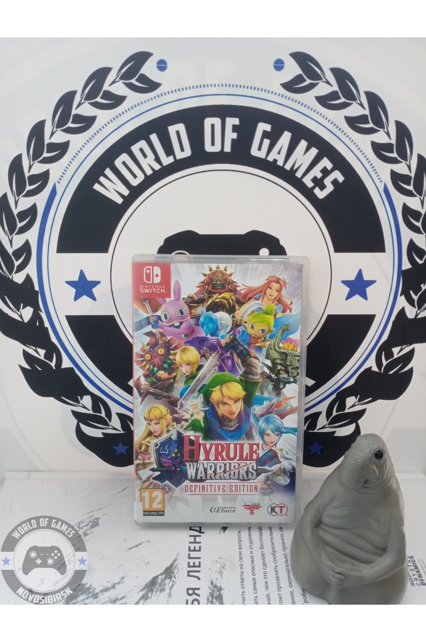 Hyrule Warriors Definitive Edition [Nintendo Switch]