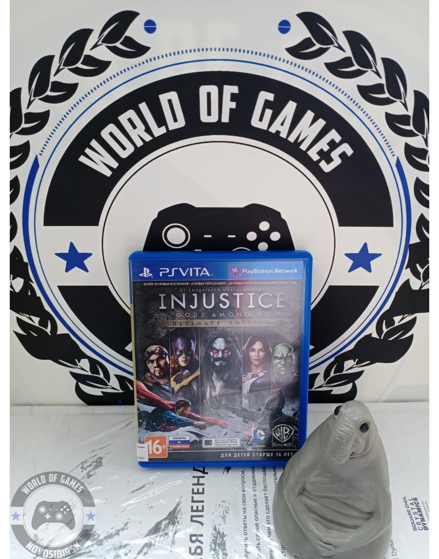 Injustice Gods Among Us [PS Vita]