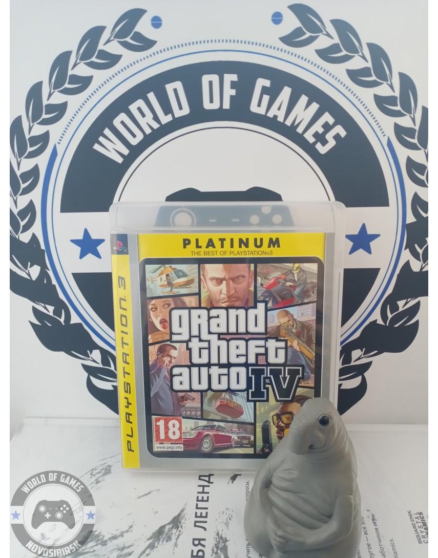 Grand Theft Auto 4 (GTA 4) [PS3]