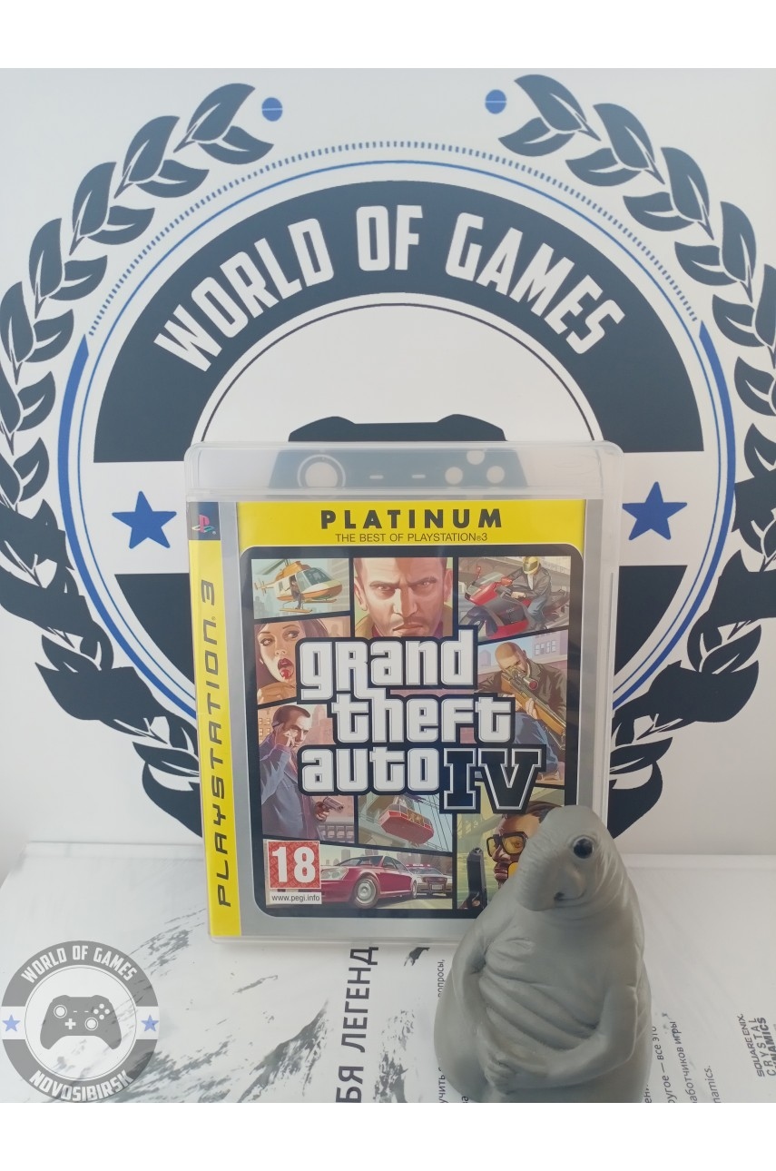 Grand Theft Auto 4 (GTA 4) [PS3]