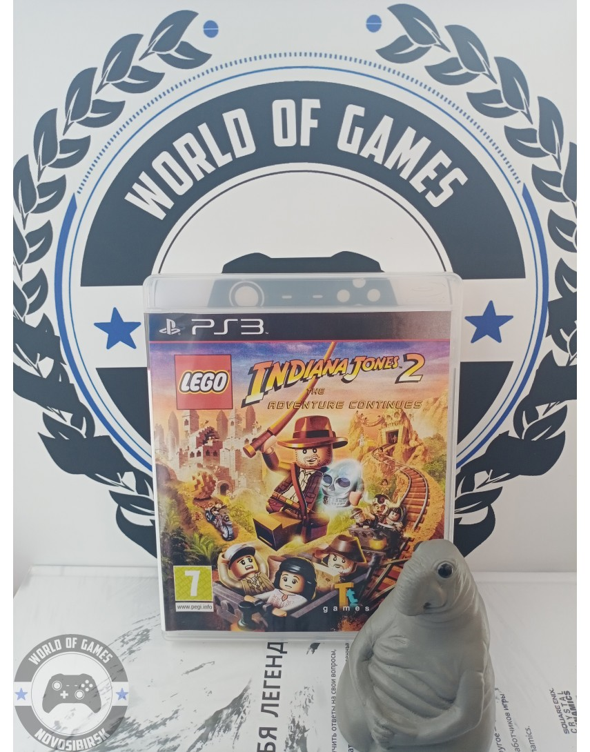 LEGO Indiana Jones 2 The Adventure Contienues [PS3]