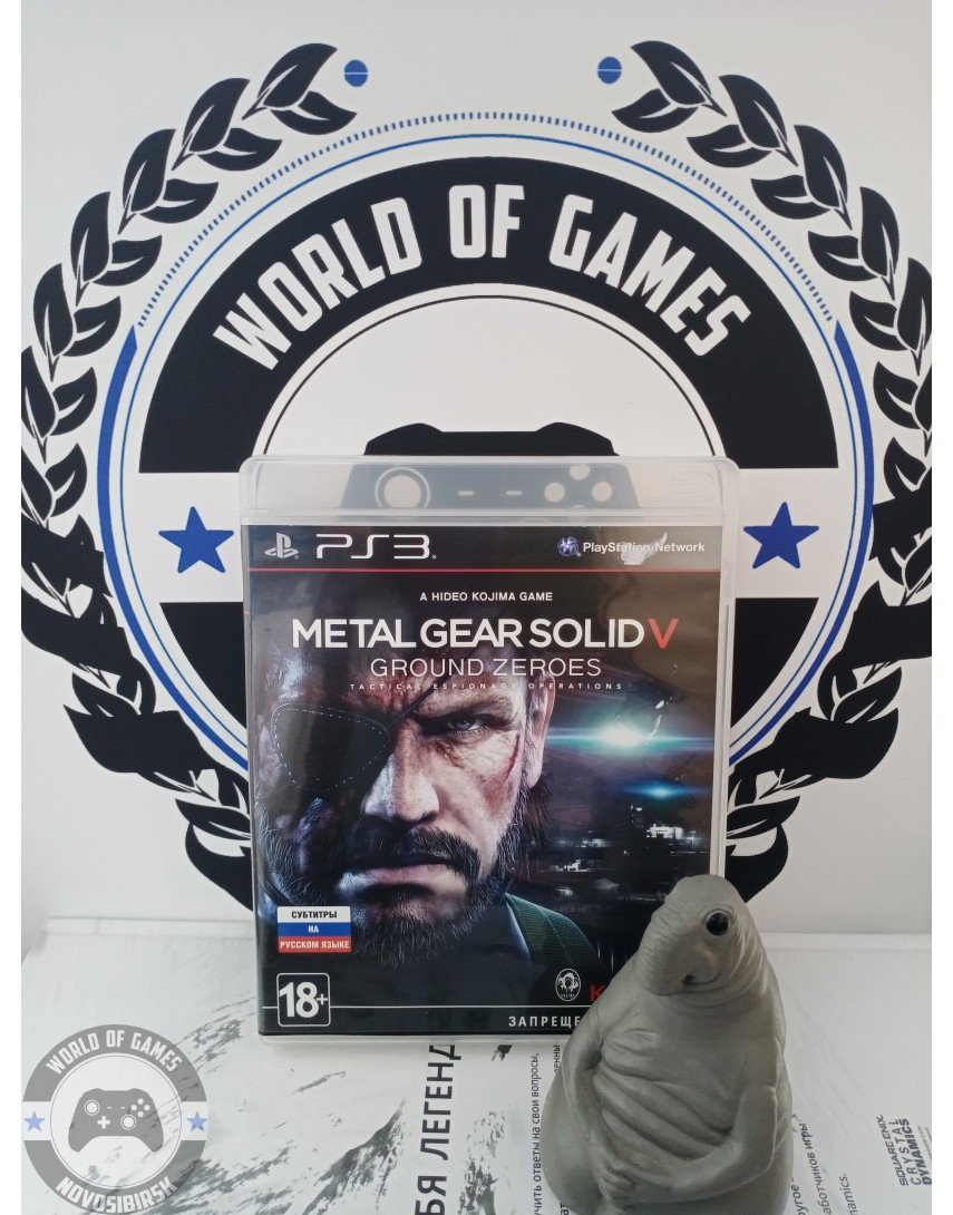 Metal Gear Solid 5 Ground Zeroes [PS3]