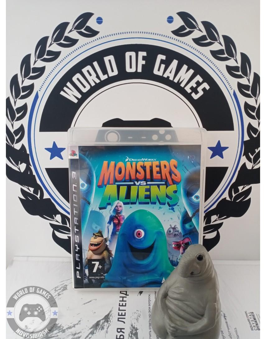 Monsters vs Aliens [PS3]