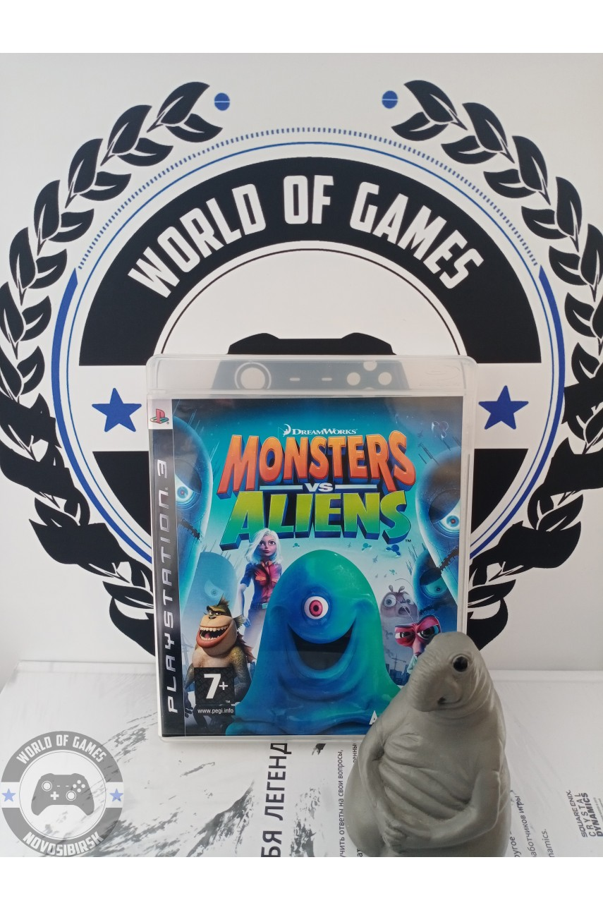 Monsters vs Aliens [PS3]