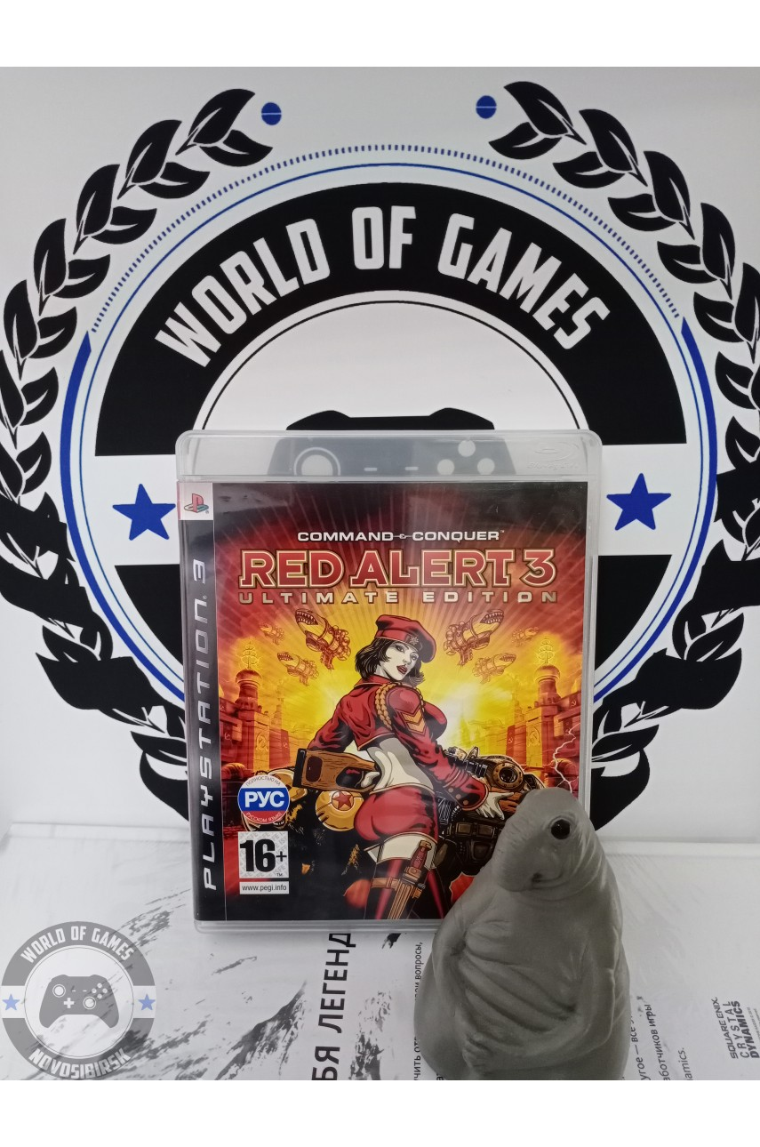 Command & Conquer Red Alert 3 [PS3]