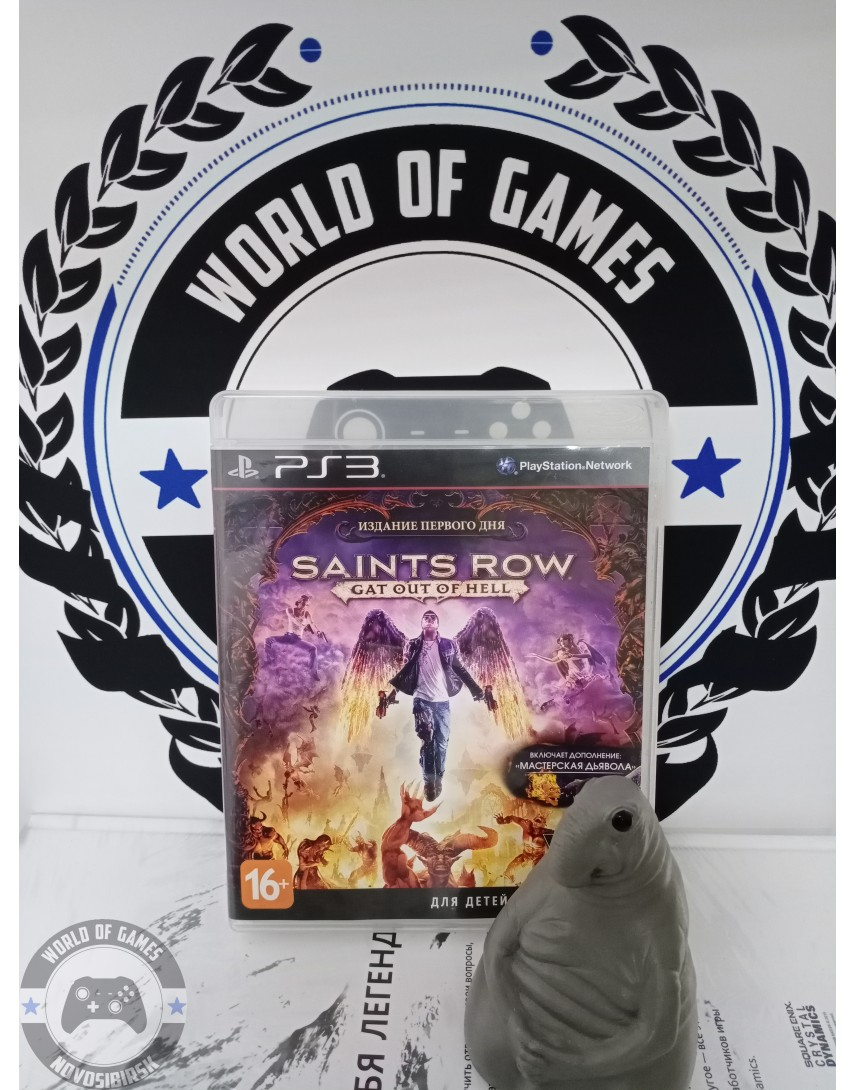 Saints Row Gat Out of Hell [PS3]