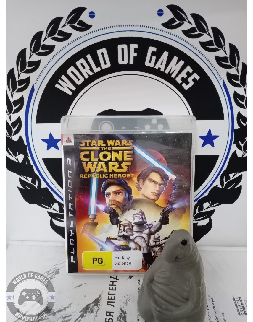 Star Wars The Clone Wars Republic Heroes [PS3]